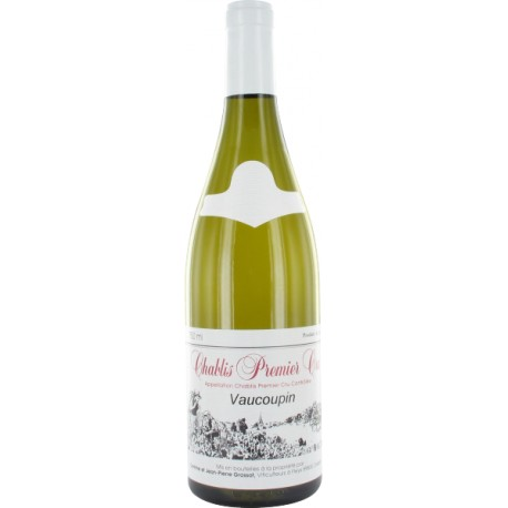 Domaine Grossot - Chablis 1er cru Vaucoupin 2018