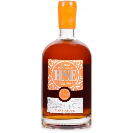 Rhum HSE small cask 2004, 50cl