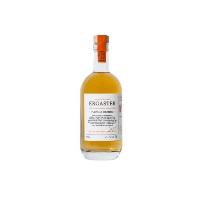 Distillerie Ergaster - Pur Malt Première - TOURBE 50cl
