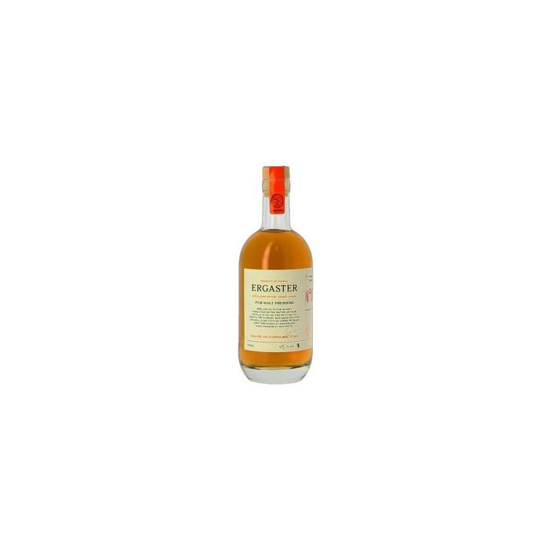 Distillerie Ergaster - Pur Malt Première Nature 50cl