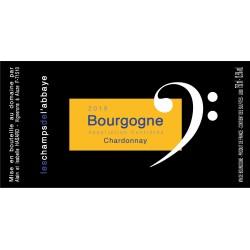 Les Champs de l'Abbaye - Bourgogne Blanc 2019
